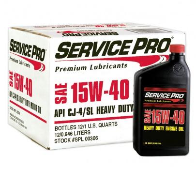 Service Pro 15w40 Heavy Duty Diesel Oil